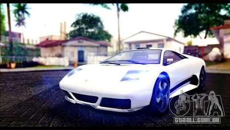 GTA 5 Pegassi Infernus para GTA San Andreas