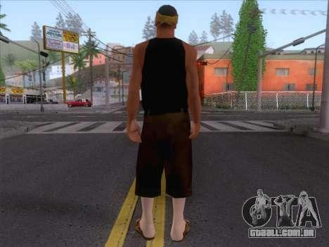 New Ballas Skin 2 para GTA San Andreas segunda tela