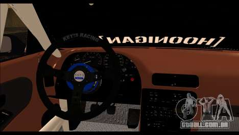 Nissan Silvia S13 Fail Crew v2 para GTA San Andreas traseira esquerda vista