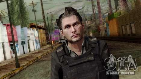 Modern Warfare 2 Skin 21 para GTA San Andreas terceira tela