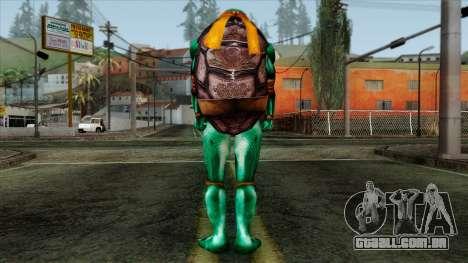 Mike (Tartarugas Ninja) para GTA San Andreas segunda tela