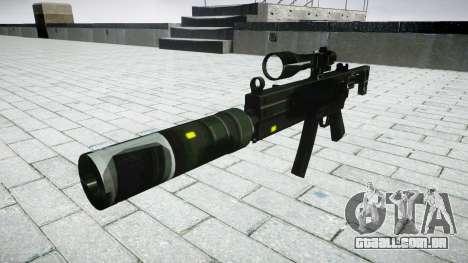 Tática submetralhadora MP5-alvo para GTA 4