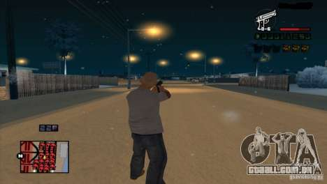 C-HUD Brendi para GTA San Andreas por diante tela