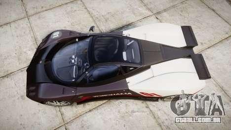 Pagani Zonda C12 S 7.3 2002 PJ3 para GTA 4 vista direita