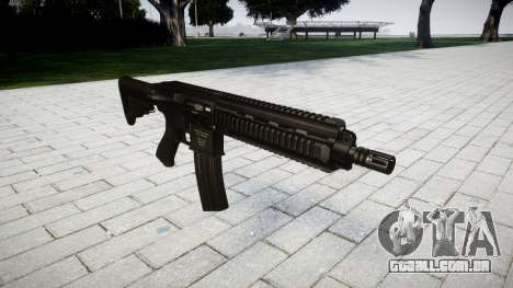 Máquina HK416 para GTA 4