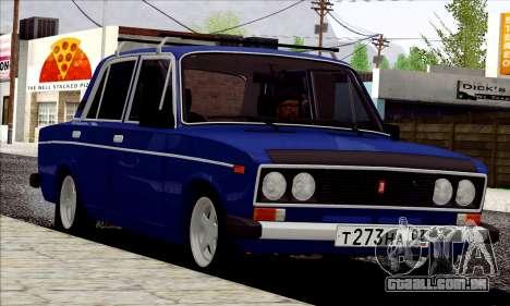 ВАЗ 2106 estilo russo para GTA San Andreas