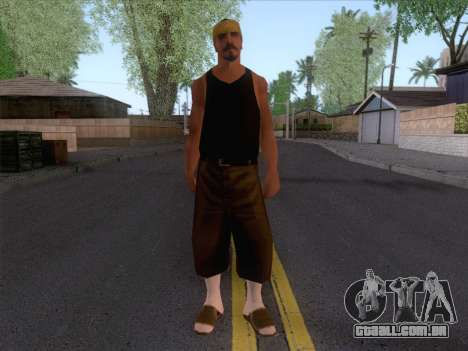 New Ballas Skin 2 para GTA San Andreas