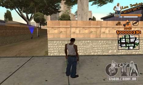 C-HUD LSW para GTA San Andreas segunda tela