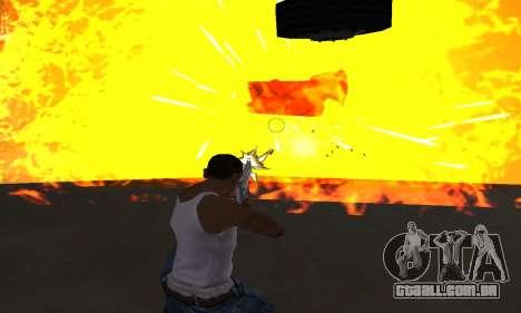 Yellow Effects para GTA San Andreas por diante tela