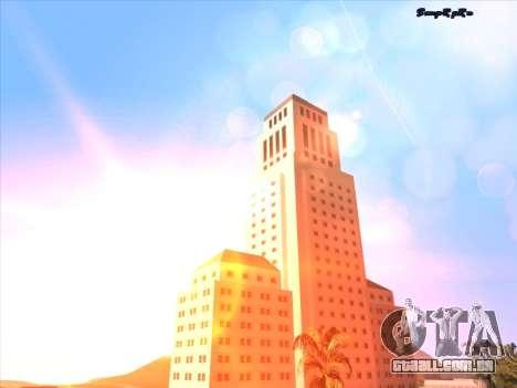 Sunset ENB para GTA San Andreas sexta tela