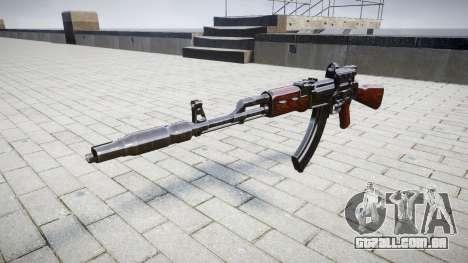 Автомат АК-47 Colimador e o Focinho de freio alv para GTA 4