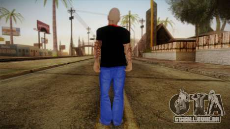 Phil Anselmo Skin para GTA San Andreas segunda tela