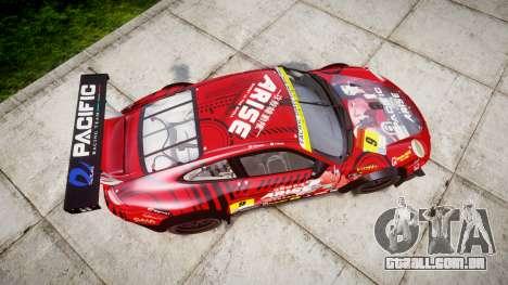 Porsche 911 Super GT 2013 para GTA 4 vista direita