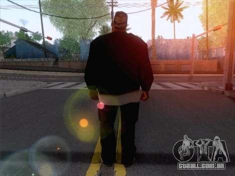 New Ballas Skin 1 para GTA San Andreas segunda tela