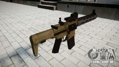Rifle de assalto AAC Honey Badger para GTA 4 segundo screenshot