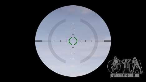 Tática submetralhadora MP5-alvo para GTA 4 terceira tela