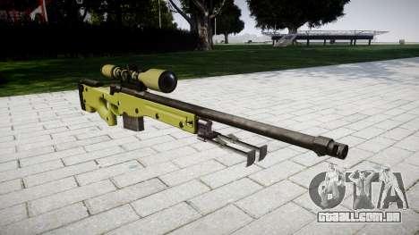 Sniper rifle AWP para GTA 4