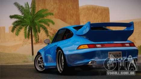 Porsche 911 GT2 (993) 1995 para GTA San Andreas vista direita