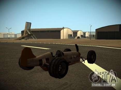 Rustler Rod Beta para GTA San Andreas esquerda vista