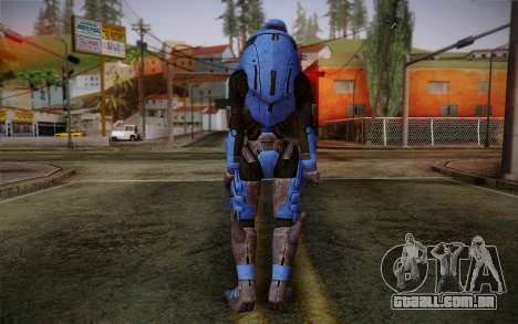 Garrus Helmet from Mass Effect 2 para GTA San Andreas segunda tela