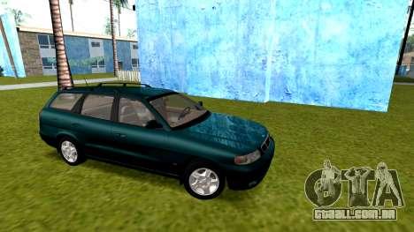 Daewoo Nubira eu Vagão CDX-NOS de 1999 para GTA San Andreas vista traseira