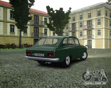 IZH 2125 Combi para GTA 4 esquerda vista