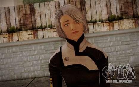 Karin Chakwas from Mass Effect para GTA San Andreas terceira tela