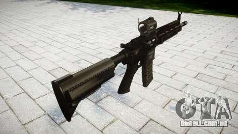 Máquina HK416 AR para GTA 4 segundo screenshot