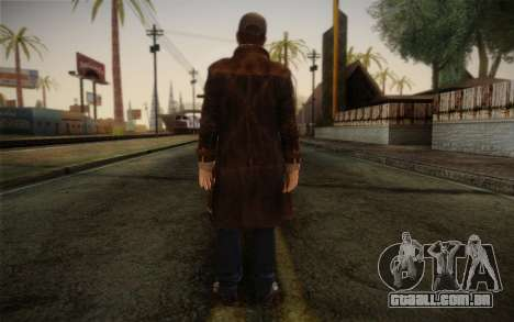 Aiden Pearce from Watch Dogs v11 para GTA San Andreas segunda tela