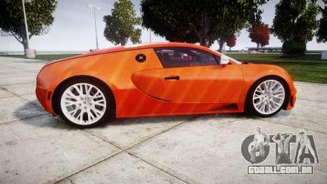 Bugatti Veyron 16.4 SS [EPM] Halloween Special para GTA 4 esquerda vista