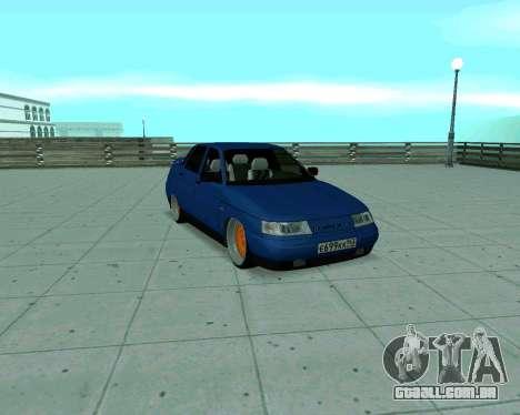 VAZ 2110 de Táxi para GTA San Andreas