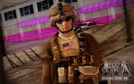 Brady from Battlefield 3 para GTA San Andreas terceira tela