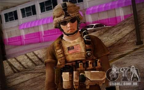 Brady from Battlefield 3 para GTA San Andreas terceira tela