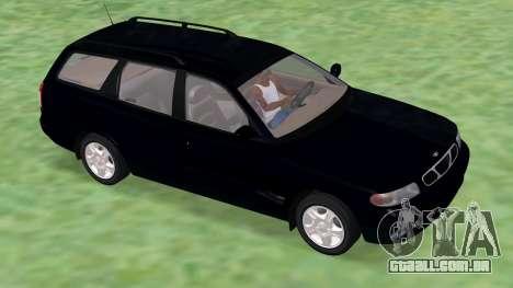 Daewoo Nubira eu Vagão CDX-NOS de 1999 para GTA San Andreas esquerda vista