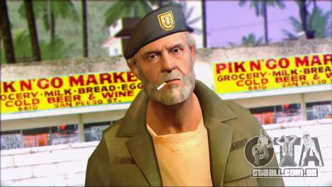 Left 4 Dead Survivor 4 para GTA San Andreas terceira tela