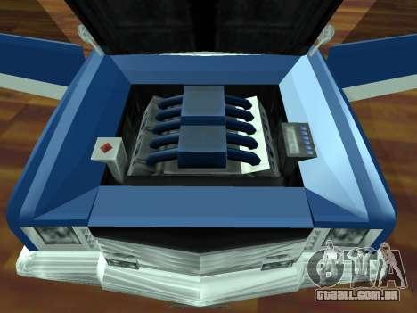 Buccaneer Turbo para GTA San Andreas vista traseira