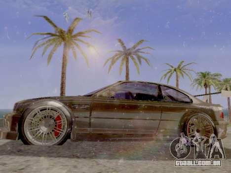 Jundo ENB Series V0.1 para PC fraco para GTA San Andreas terceira tela