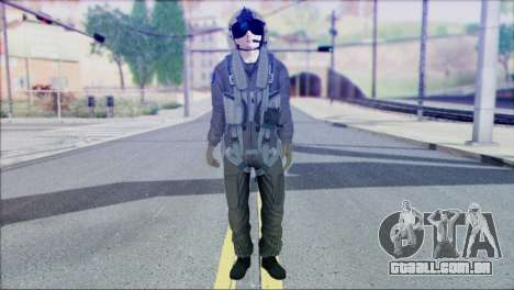 USA Helicopter Pilot from Battlefield 4 para GTA San Andreas