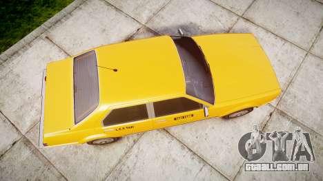Albany Esperanto Taxi para GTA 4 vista direita