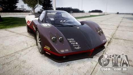 Pagani Zonda C12 S 7.3 2002 PJ3 para GTA 4