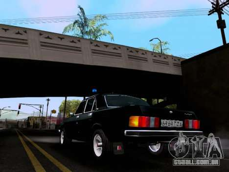 Volga GAZ 3102 para GTA San Andreas esquerda vista