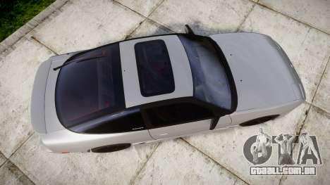 Nissan 240SX SE S13 1993 para GTA 4 vista direita