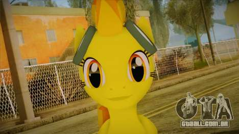 Spitfire from My Little Pony para GTA San Andreas terceira tela