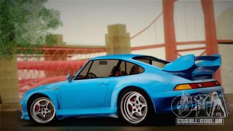 Porsche 911 GT2 (993) 1995 para GTA San Andreas vista traseira