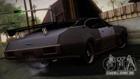 Clover Mejorado para GTA San Andreas esquerda vista