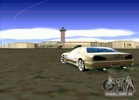 Elegy Restyle para GTA San Andreas vista direita