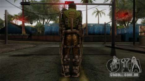 Army Exoskeleton para GTA San Andreas segunda tela