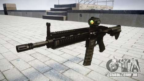 Máquina HK416 AR-alvo para GTA 4