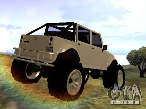 GTA 5 Mesa MerryWeather version para GTA San Andreas esquerda vista