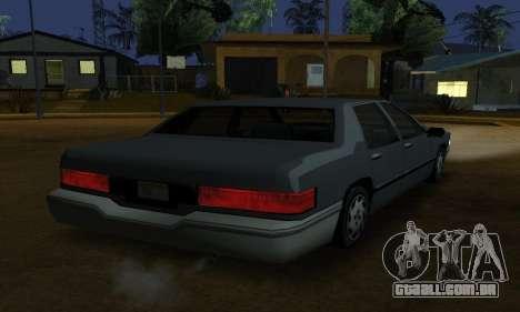 Beta Elegant Final para GTA San Andreas esquerda vista